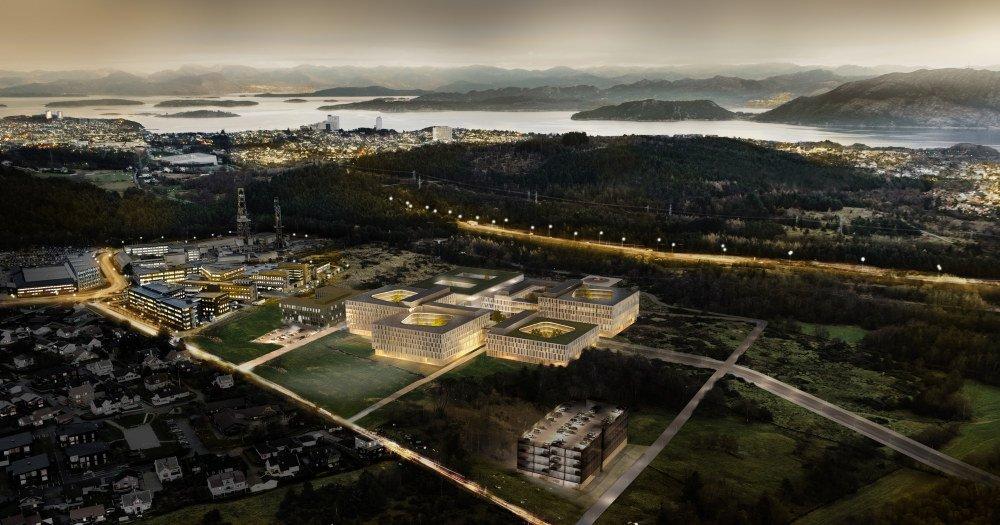 Illustration of the future Stavanger University Hospital