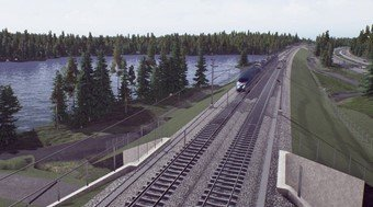 Picture from the Swedish Transport Administration's video