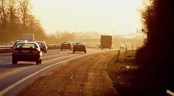City cars traffic