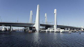 Hising bridge in Sweden